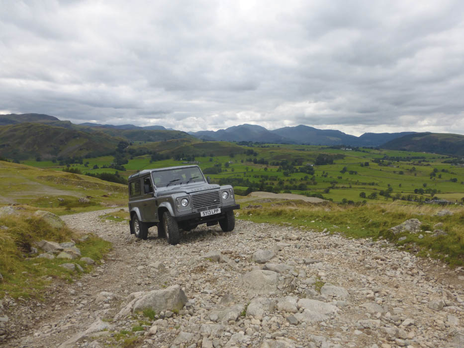 Off-roading in the Lake District