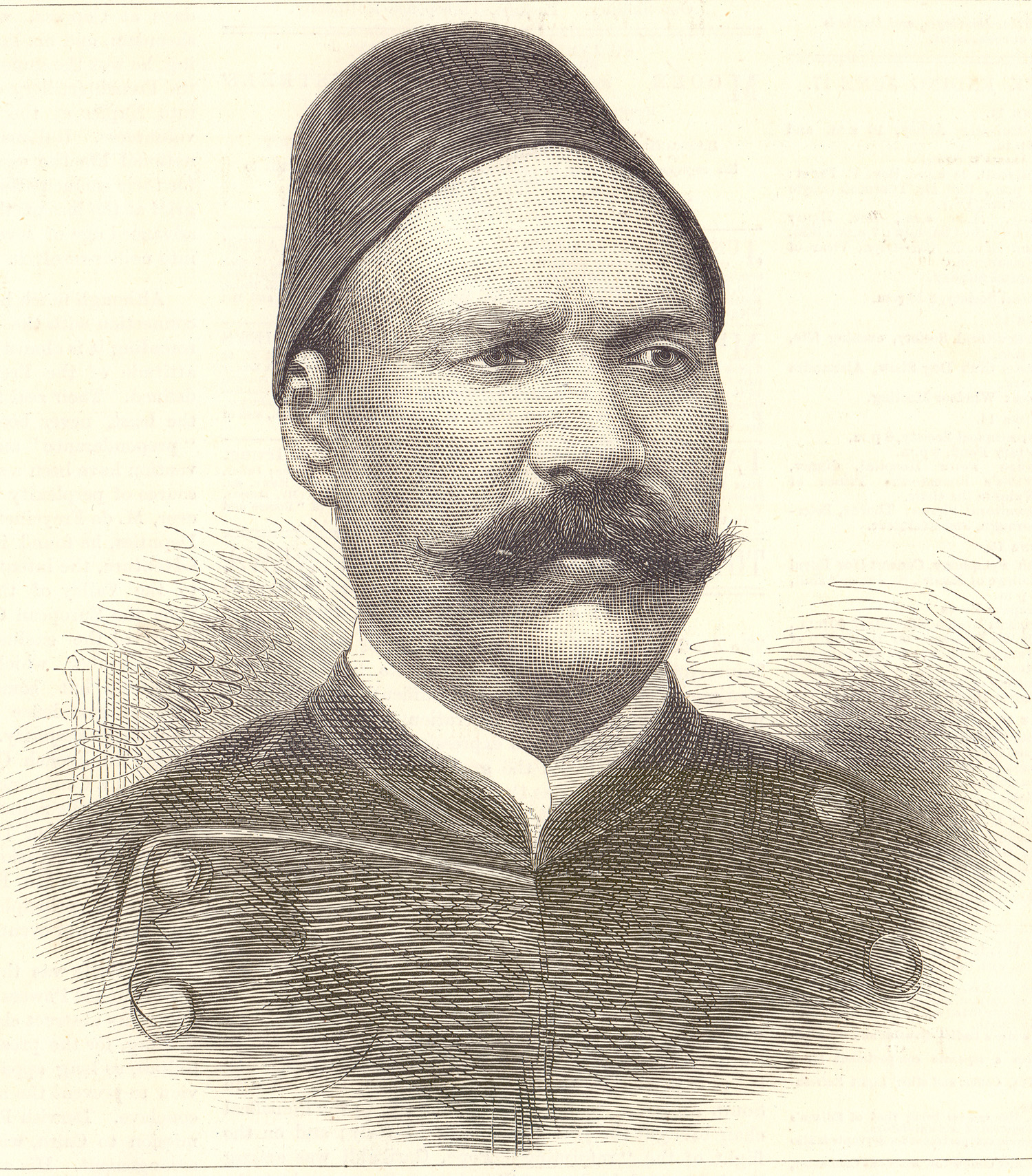 Ahmed Arabi, who led a nationalist uprising in Egypt that resulted in the British invasion of the country in 1882
