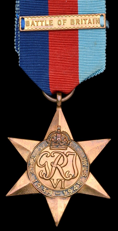 The 1939-45 Star with original Battle of Britain Clasp