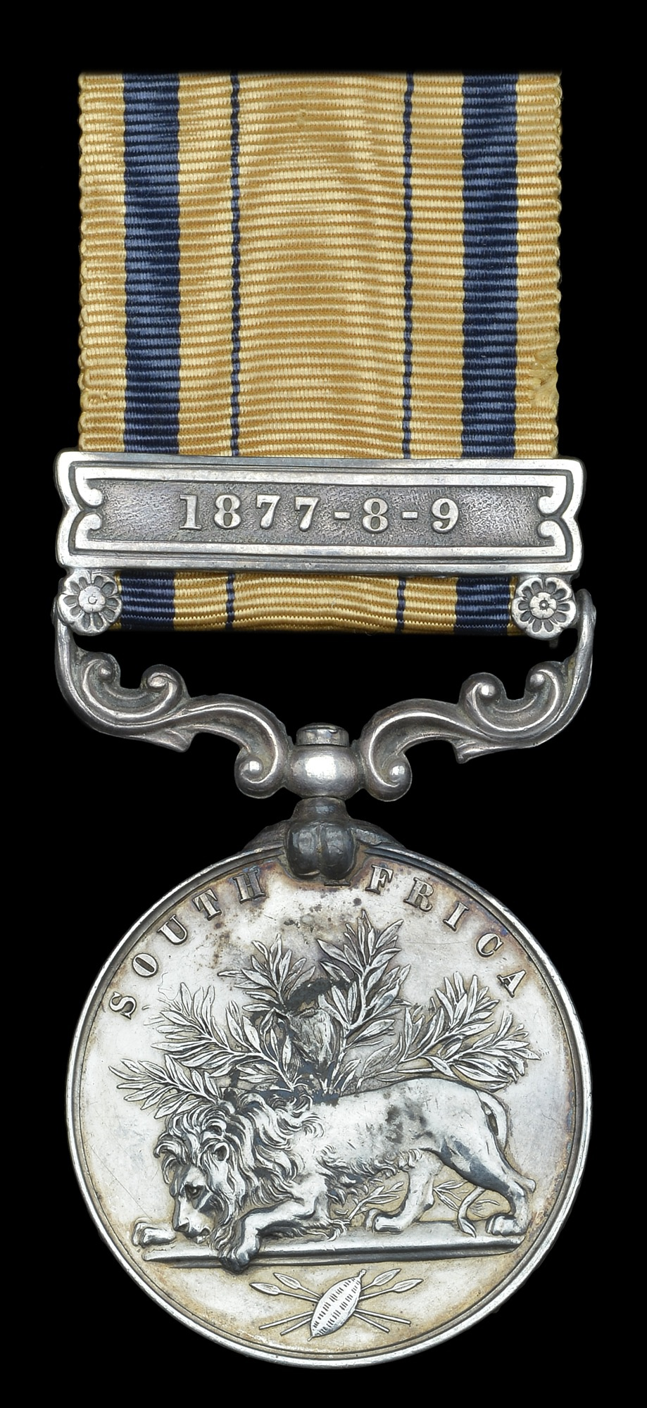 The medal to Private R. Parry, 1-24th Foot, killed in action at Isandhlwana, which recently sold for £8,000 (DNW)