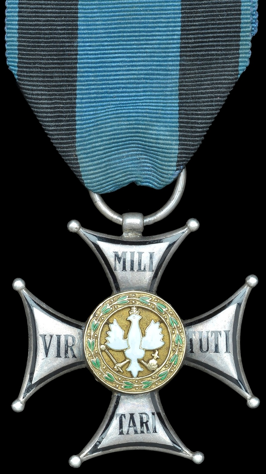 The Polish Order of Military Virtue, awarded in various classes to Polish and British recipients for Market Garden