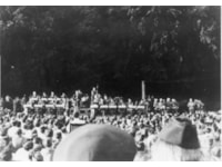 Capt Glenn Miller and band of the AEF in the Park
