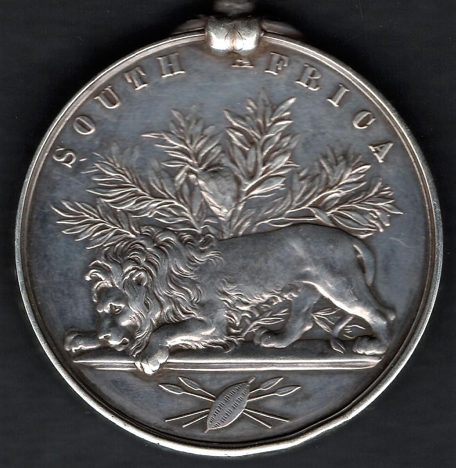 The reverse of the medal as adapted for the 1877-79 issues