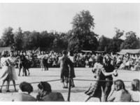 Dancing to Glenn Miller band in Ciren Park