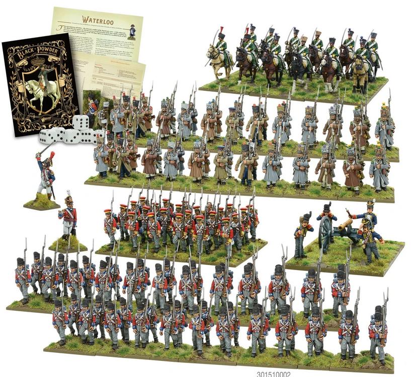 Waterloo - Black Powder starter set
