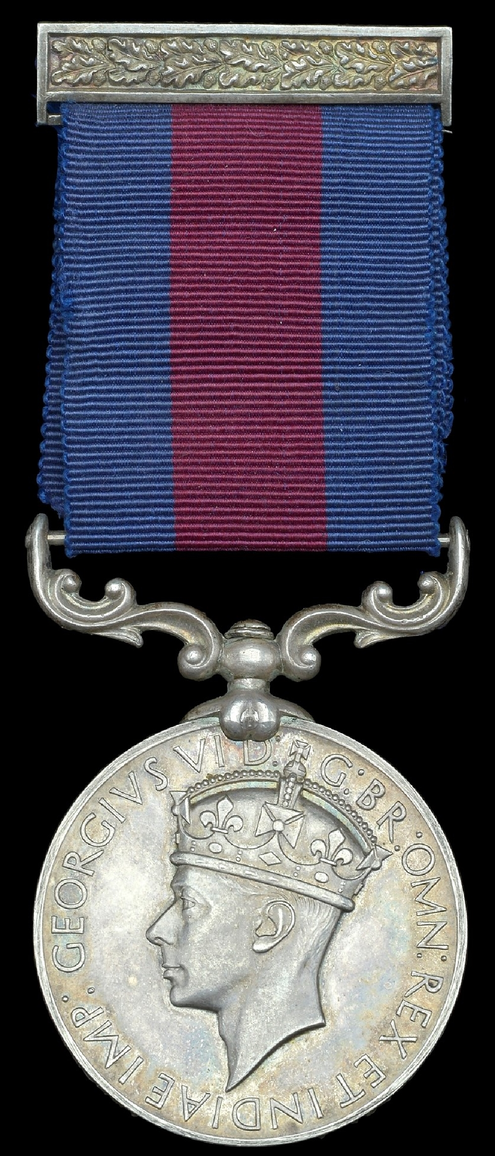 The Indian Distinguished Conduct Medal (IDSM 1907-47) with integral brooch bar. More or less an equivalent of the DCM for Indian forces, to whom the DCM was not awarded