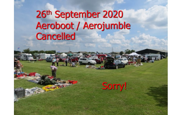The Aeroboot sale for the end of September has been cancelled