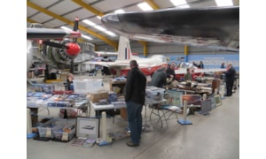 Aviation and avionics sale at Newark Air Museum