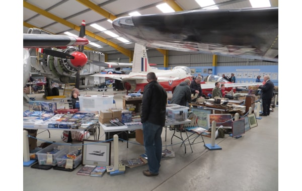 Aviation and avionics sale at Newark Air Museum
