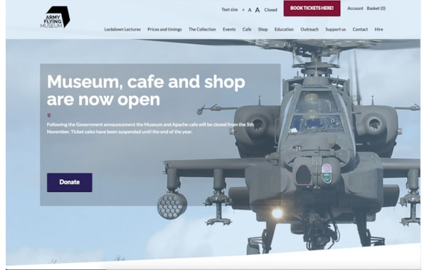 Army Flying Museum to host online lectures