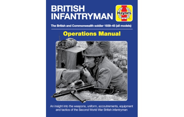 British Infantryman by Simon Forty