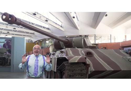 Bruce Crompton Tank Museum Panther