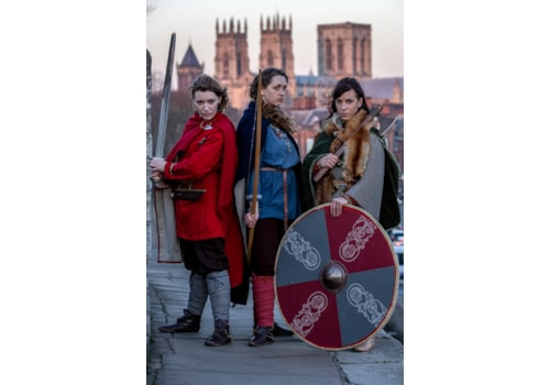 Shield Maidens arrive for JORVIK Festival