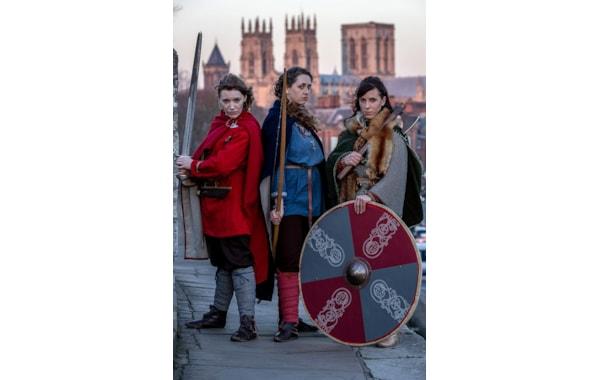 Shield Maidens arrive for JORVIK Festival