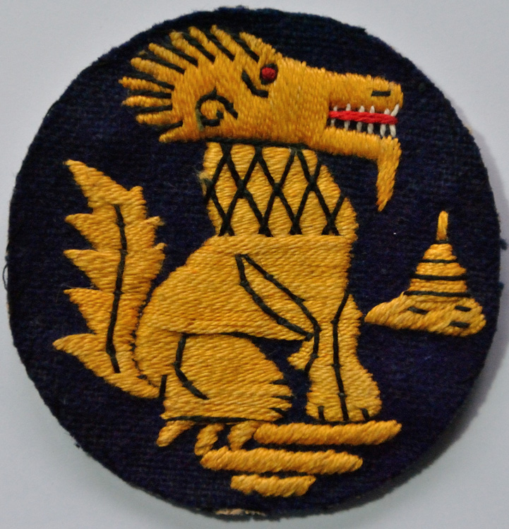 The badge of the Chindits