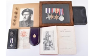 C & T Auctioneers medals auction