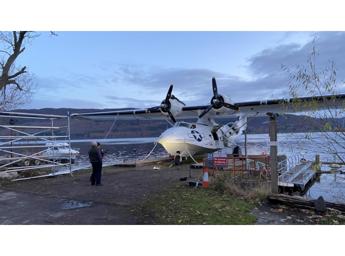 Catalina Flying Ship on Loch Ness
