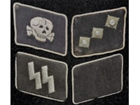 Collar tabs of the Waffen-SS Panzer units