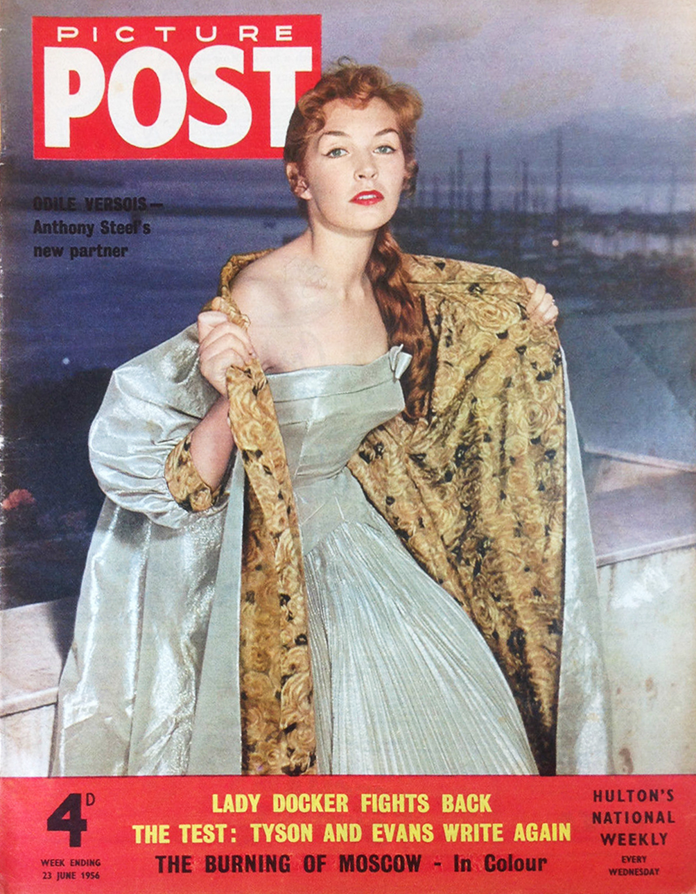 The first issue in colour in 1957