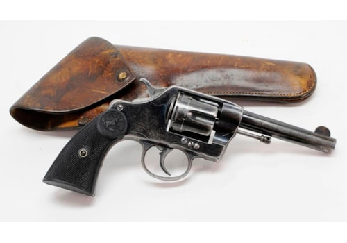 Colt Model 1889 DA uses .41 Long Colt ammo