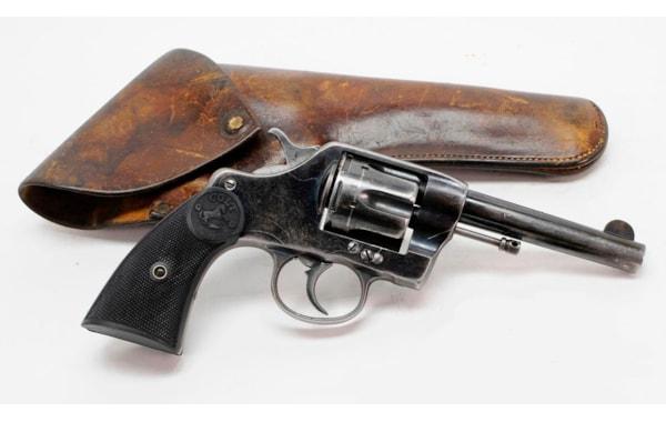 Colt Model 1889 DA uses .41 Long Colt ammo