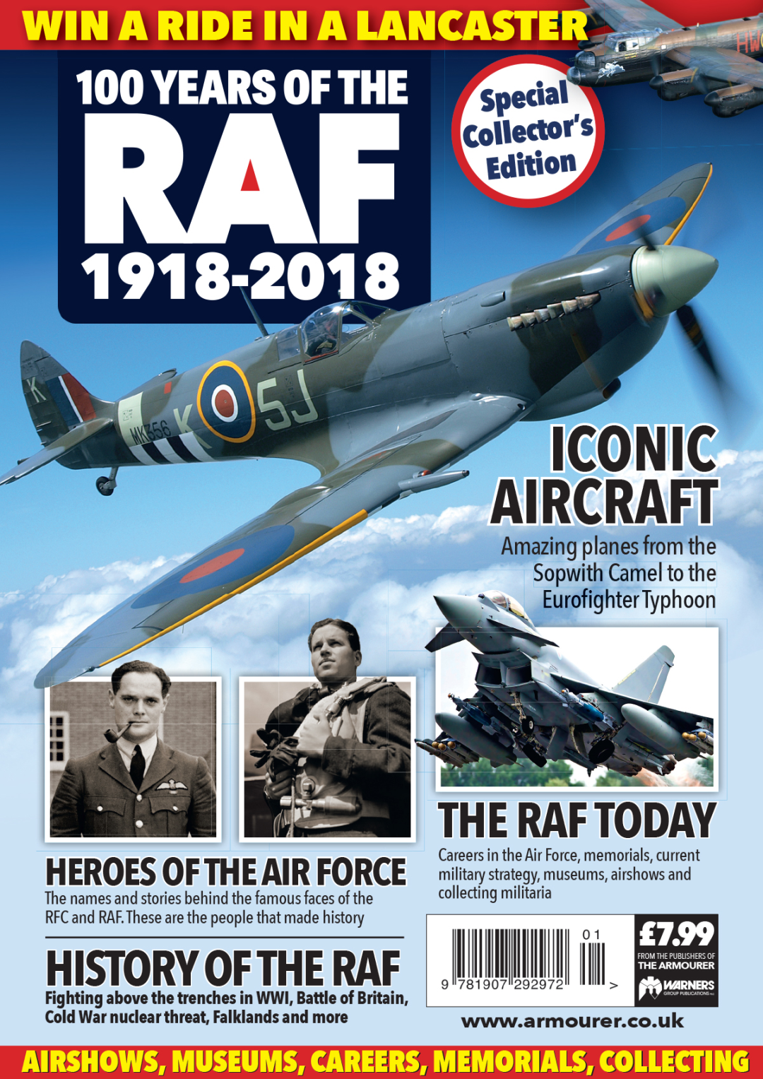 100 YEARS OF THE RAF 1918-2018 - Militaria History