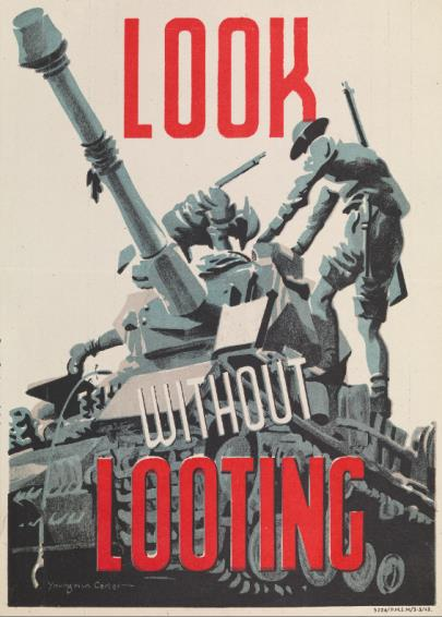 British Army poster from 1943 will feature in What Remains at IWM London (5 July 2019 – 5 January 2020).