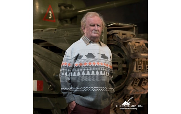 The Tank Museum's Christmas jumper for 2020