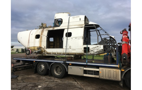 The Puma body arrived with a load of spares