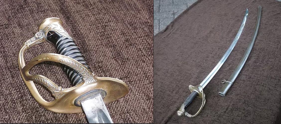 French Light Cavalry Swords
