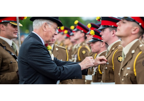 Duke of Gloucester presented the prestigious campaign medals