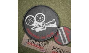 Fighting on Film badge