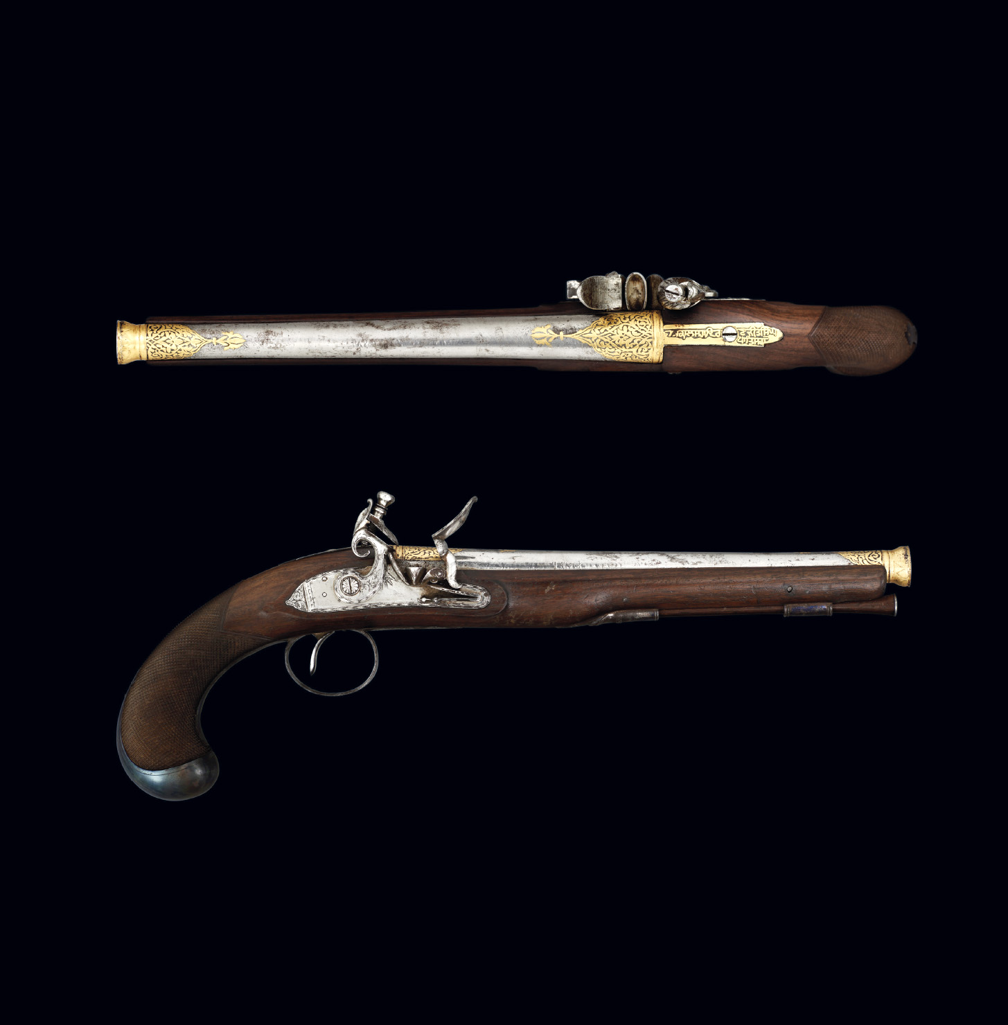 Flintlock pistol belonging to Maharaja Ranjit Singh