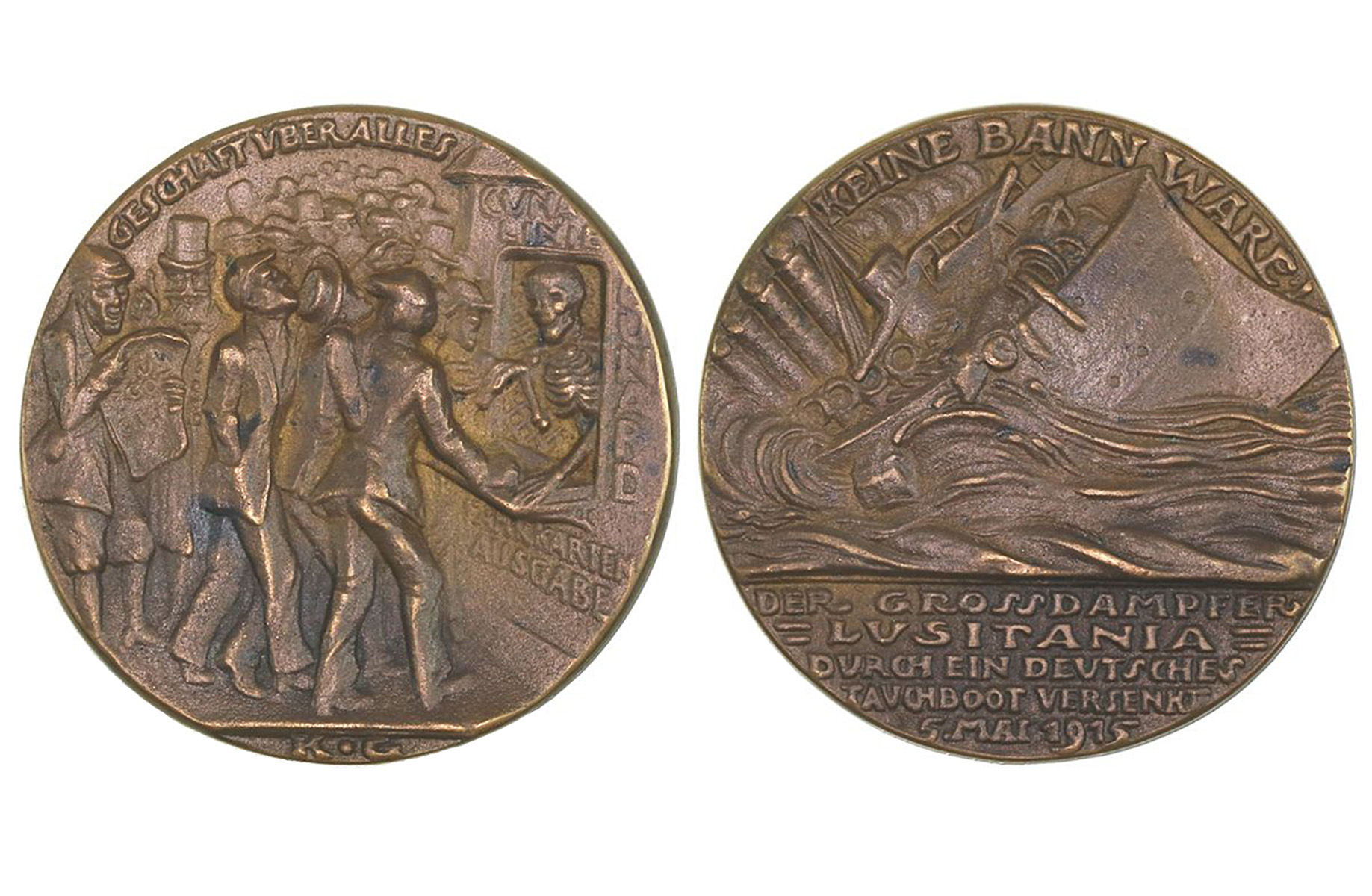 The first version of the German medal