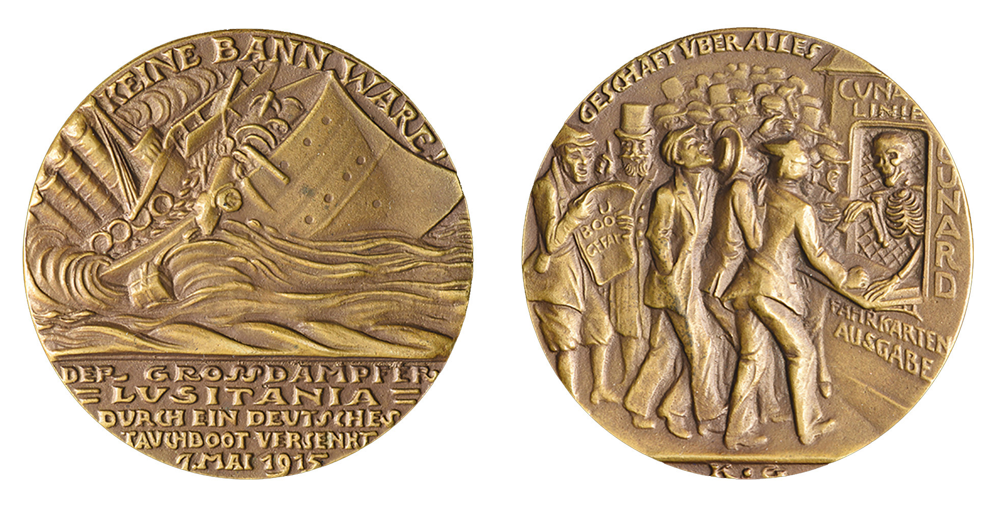 The second version of the German medal