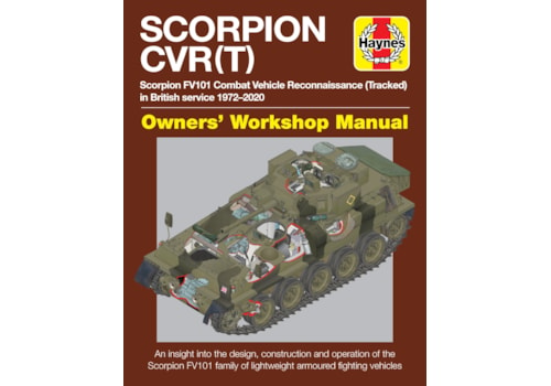 Haynes guide to the Scorpion FV101