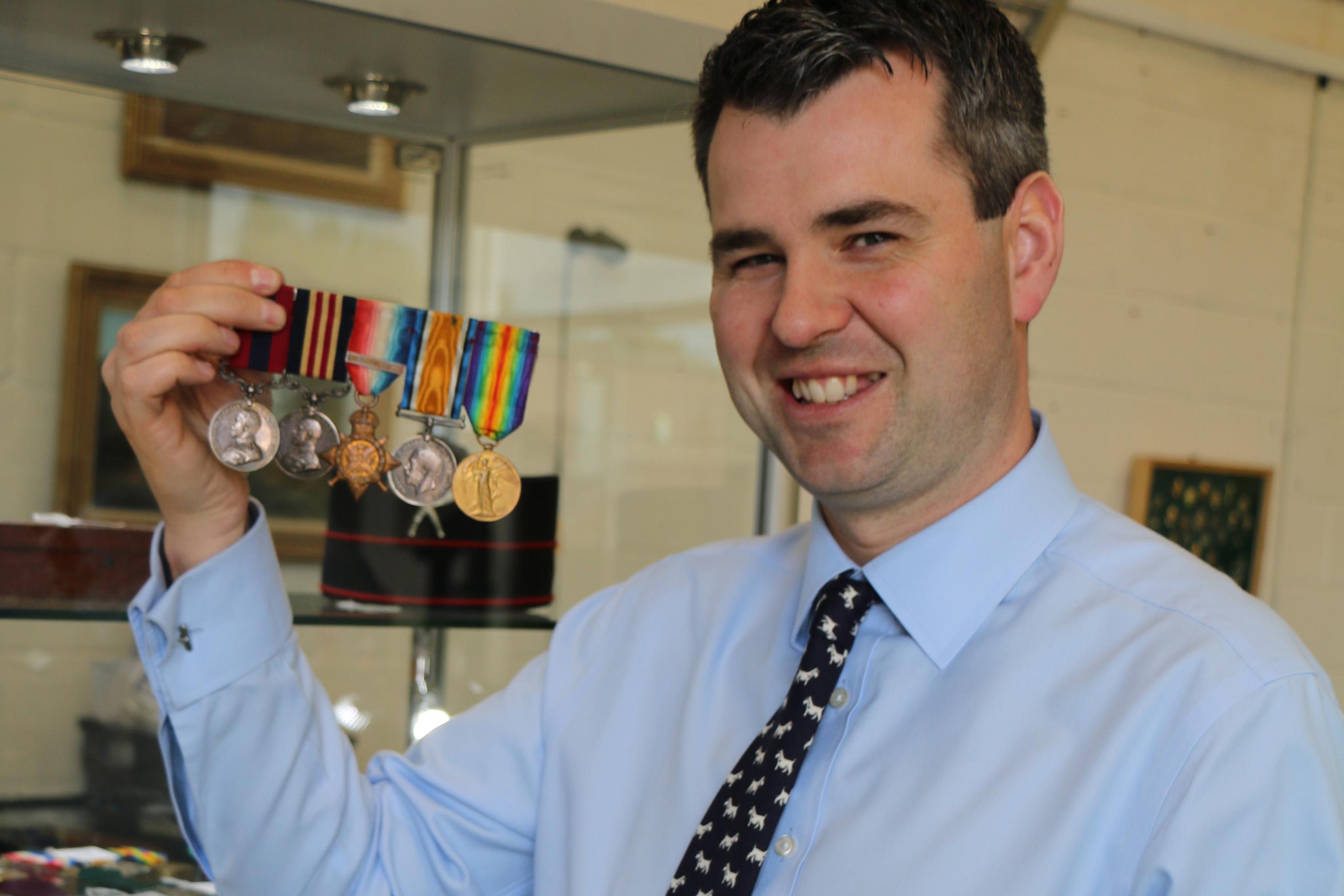 Medals at Bishop & Miller