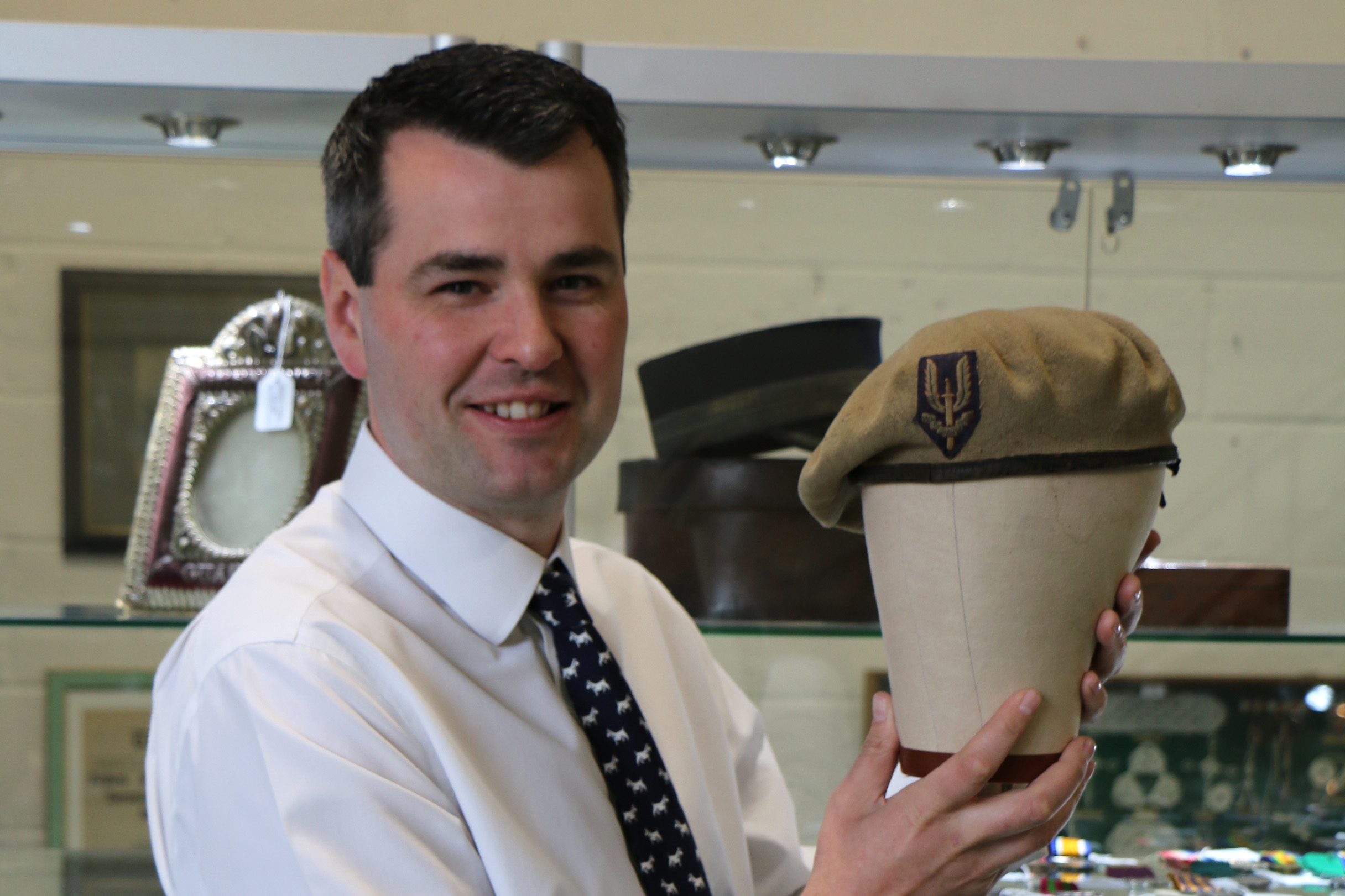 WWII beret fetched over £20,000