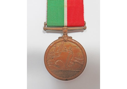 Navy medal for action on HMS Rawalpindi