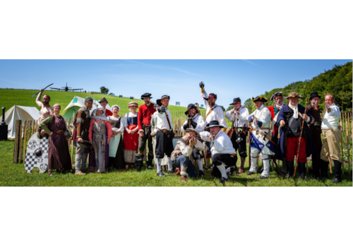 Chalke Valley History Festival (image by Elizabeth Perry)