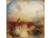 JMW Turner - War. The Exile and the Rock Limpet exhibited 1842