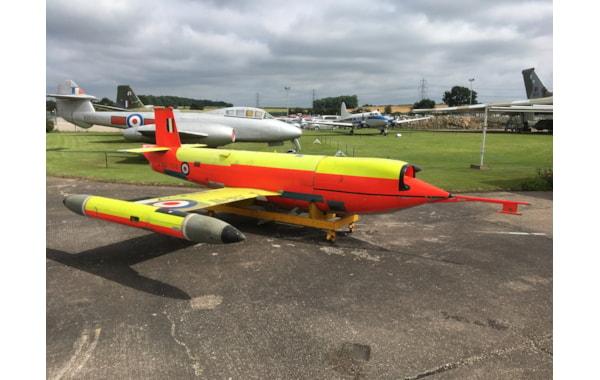 GAF Jindivik arrives at Newark Air Museum