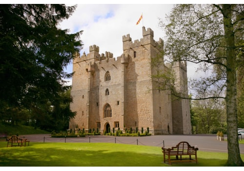 Langley Castle hotel in Northumberland