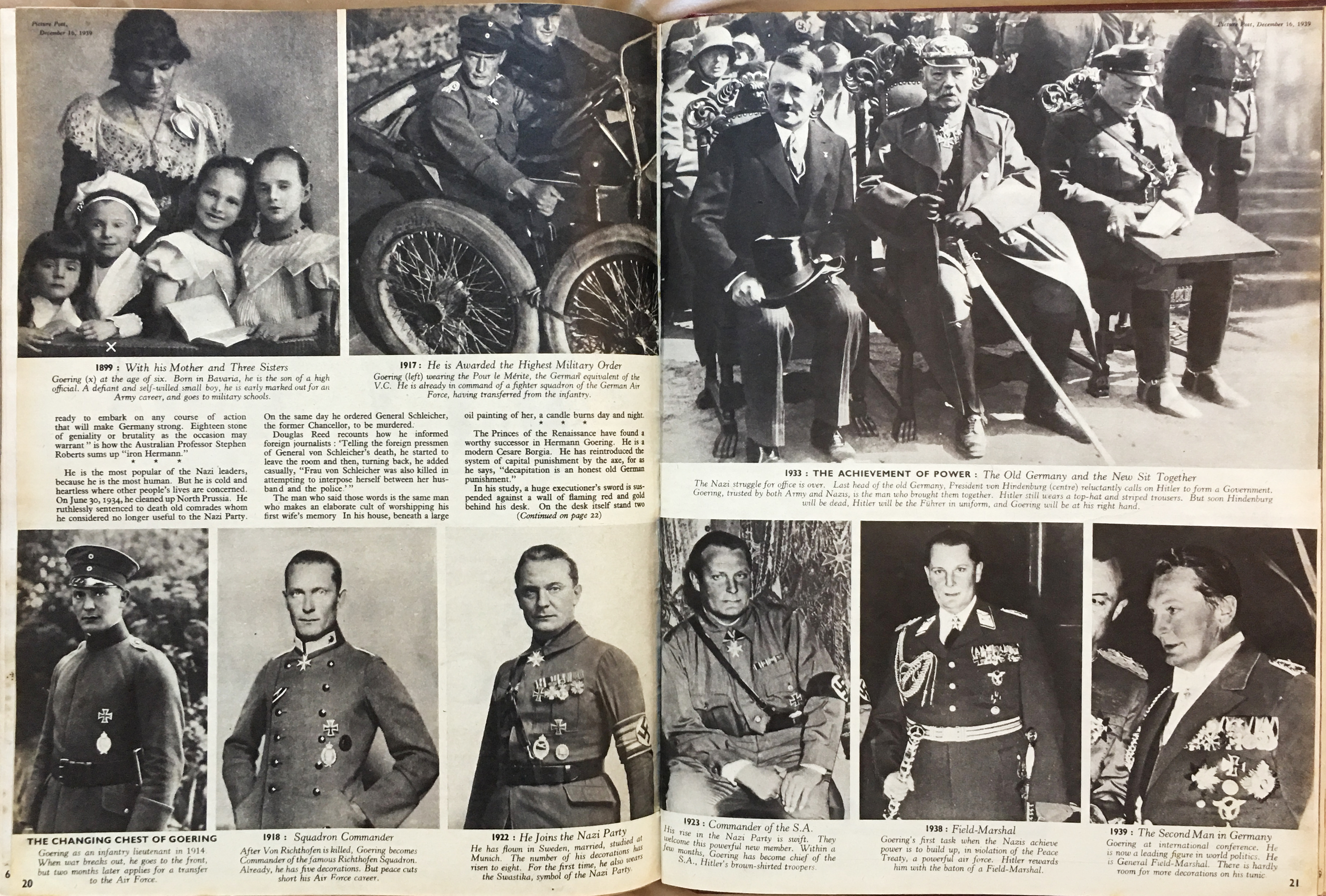 The life of Hitler's No. 2