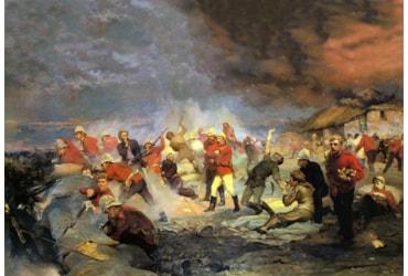 The battle of Rorke's Drift