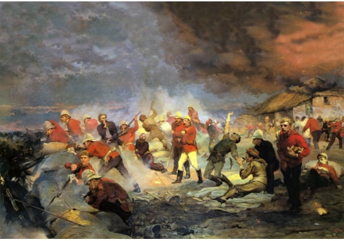 The battle of Rorke's Drift