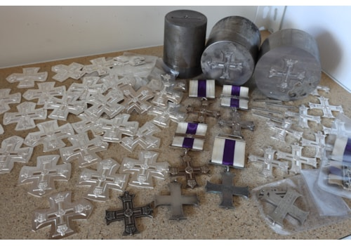 Fake Military Crosses being produced