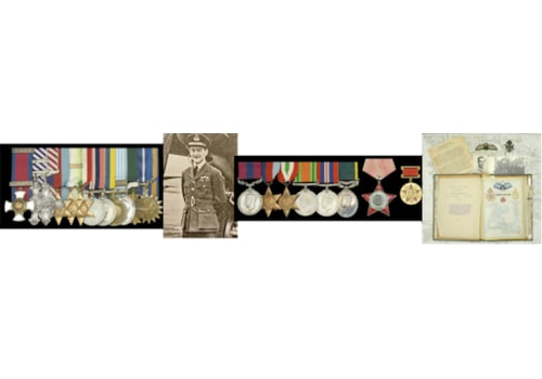 Mosquito pilot group of 12 medals up for auction at DNW