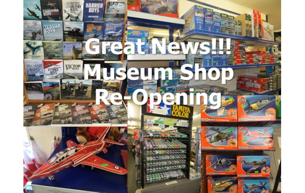 NAM Shop has re-opened