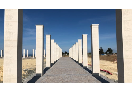 The National Monument to those who fell in Normandy